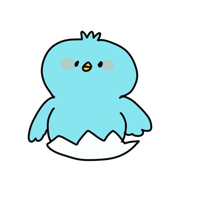マスコットの鳥